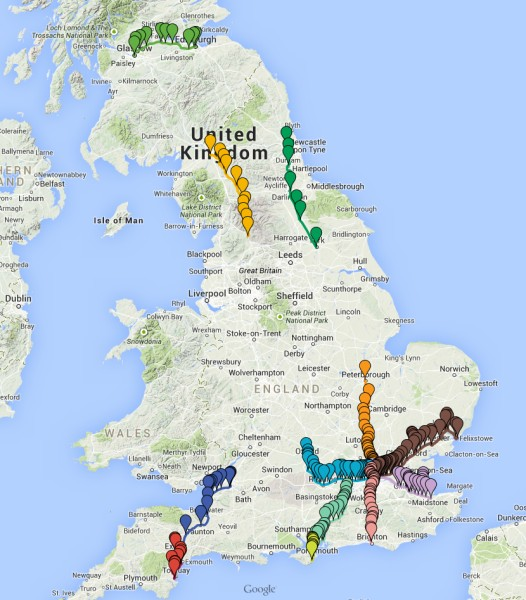 Atomic Systems View Great Britain Map Online Maps With